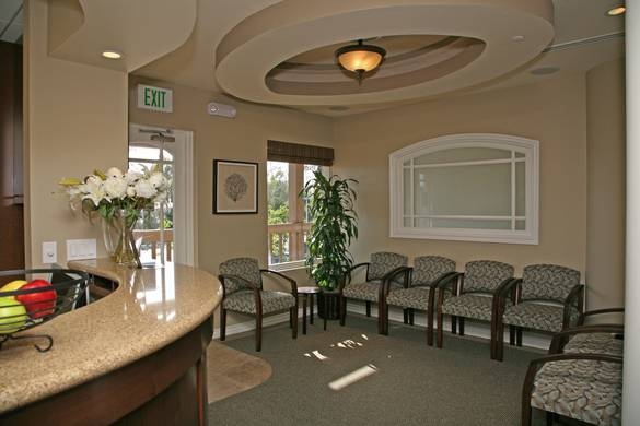 patient flow in waiting room To eliminate confusion and streamline patient flow on an ongoing basis, the  a  private waiting area was also created for the fast-track patients.