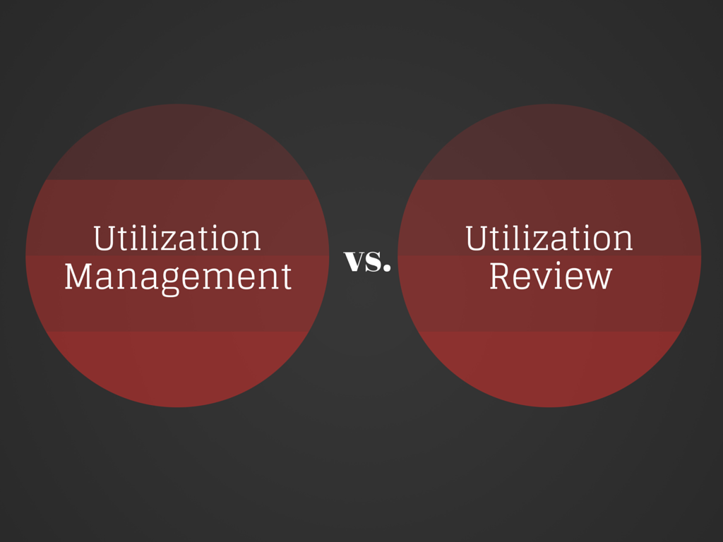 Defining the difference in utilization processes