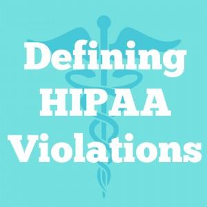 hipaa violations