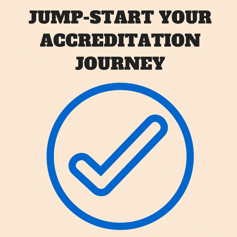 jump start your accreditation journey