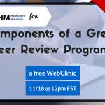 Free Webinar on Peer Review Programs in Healthcare