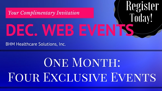 Healthcare Web Events