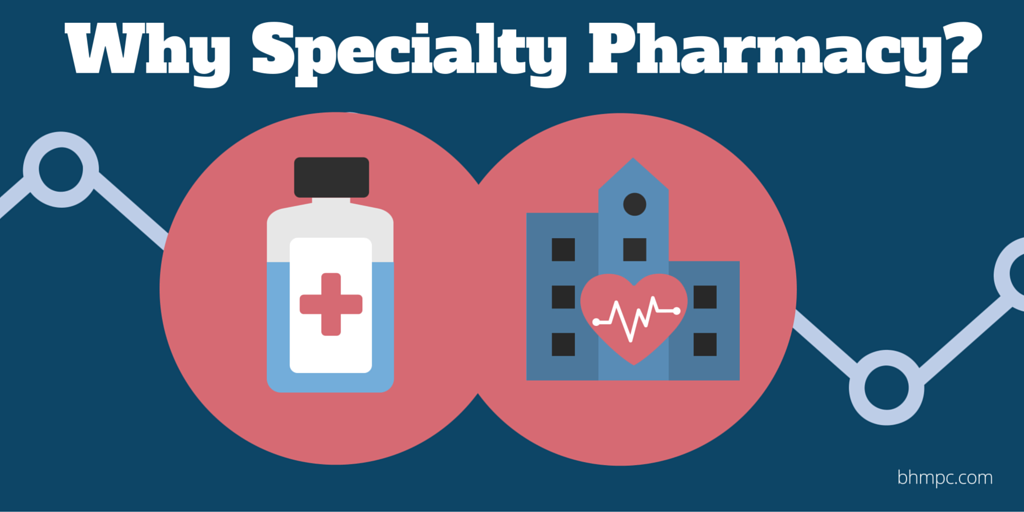 The benefits of Specialty Pharmacies for hospitals and health systems