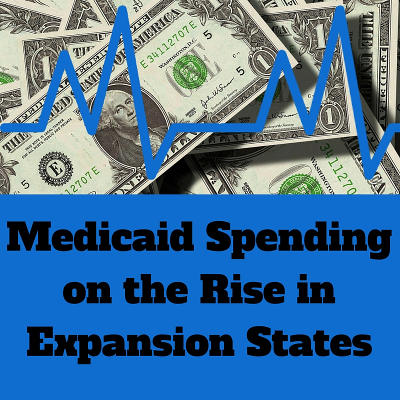Medicaid Spending is Increasing 2015
