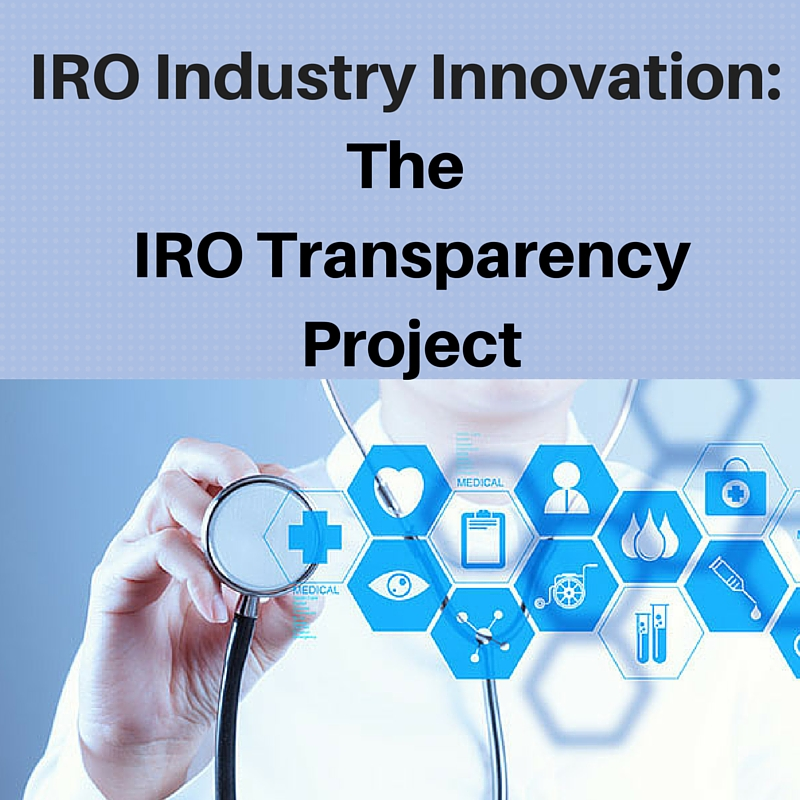 The IRO Transparency Project