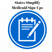 States Simplify Medicaid Sign-Ups