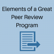 Key Components to a Great Peer Review Training Program