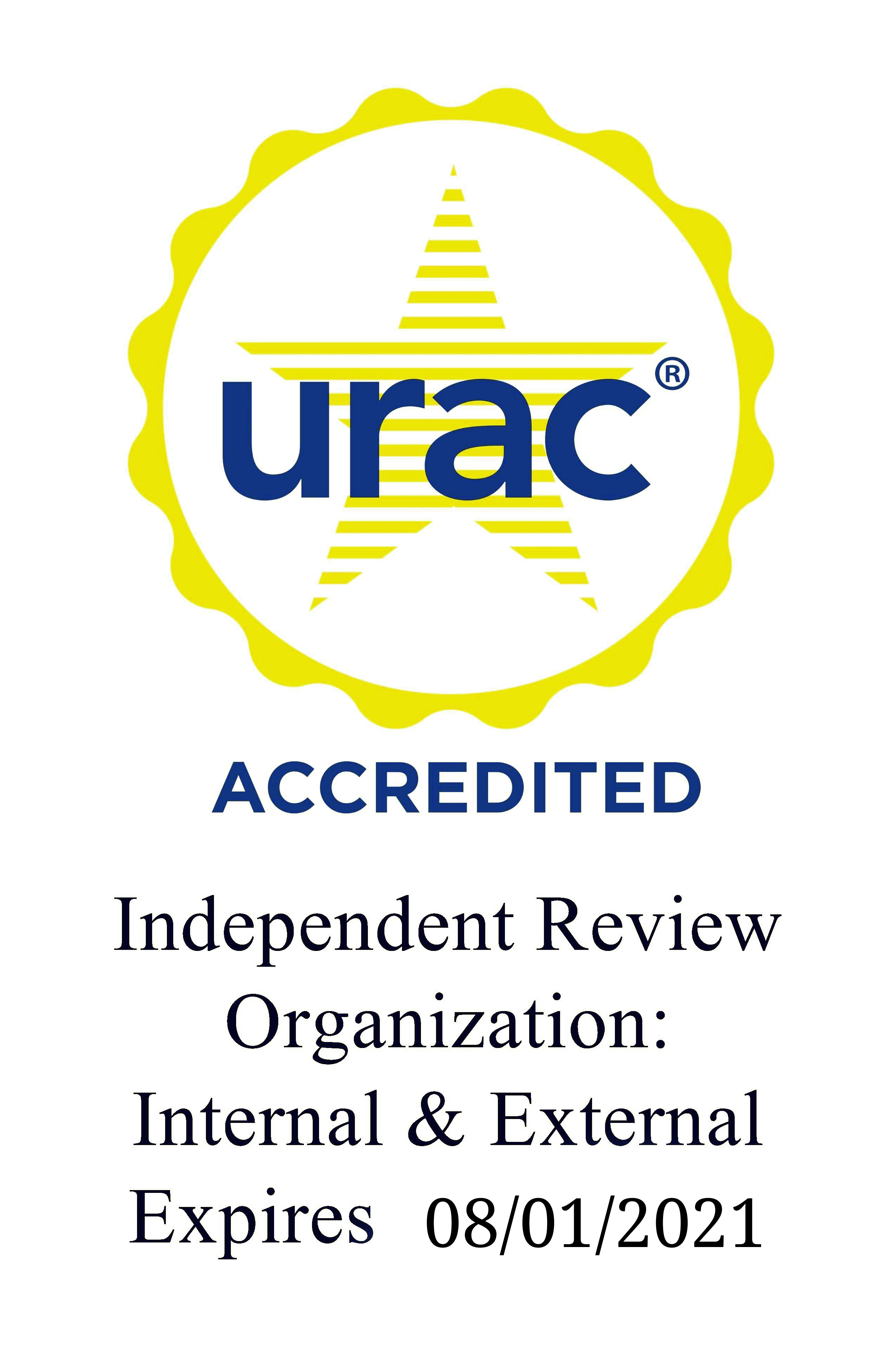 BHM URAC Accredited